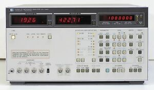 Hp 4192a Lf Impedance Analyzer Lcr