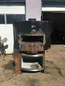 Wood Stone Mt Adams 5 Pizza Oven Wood Fired Wood Bin Front Shelf Included