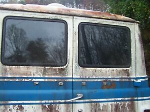 Ford Econoline E100 Rear Door Pop Out Windows 1961 1962 1963 1964 1965 1966 1967