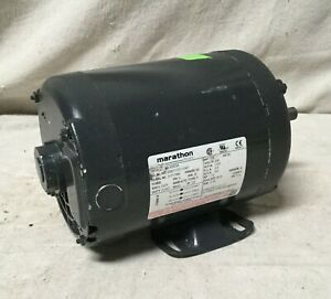 Marathon Motors 056t17d11047 Motor 1hp 11 3 4in l Keyed
