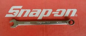 Snap On Tools 14mm Flank Drive Plus 12 Pt Combination Wrench Soexm14 Ships Free