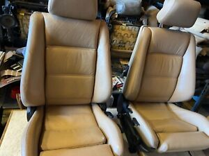 E30 Bmw 325 318 Convertible Oem Front Sport Seats 87 92 In Tan 1300 00
