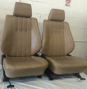 Bmw E30 325i 318i Front Comfort Seats1987 92 Available In Black Or Tan 750