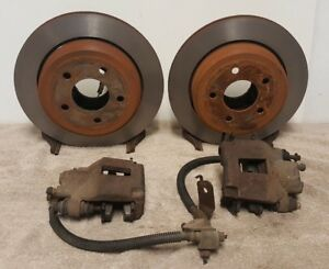 65 66 67 68 69 70 71 Mustang Rear Disc Brakes Kit Brake 5 Lug Pads Used Kit
