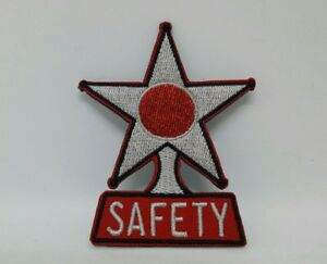 36 37 38 39 40 42 48 49 51 52 53 54 Chevy Safety Star Patch Hat Jacket Vest