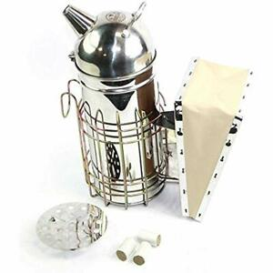 Home Kitchen Features Goodland Bee Supply 11 inch Stainless Steel Hive Smoker
