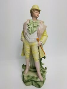 Vintage Large 16 French Victorian Dress Porcelain Vion Baury Statues Bisque