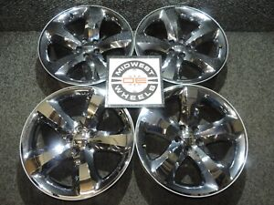Charger Magnum Challenger 20 Wheels 2005 2019 Factory Oe Chrome Clad 20x8 5x115