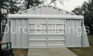Durospan Steel 35x36x16 Metal Building Garage Kit Workshop Shed Factory Direct