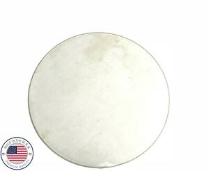 1 8 Steel Plate Round Circle Disc 5 Diameter A36 Steel 125