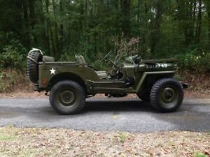 M38 M38a1 Military Army Willys Jeep Rear Seat Frame Made In The Usa