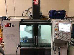 Haas Vf2yt Milling Center Cnc Machine Vf 2yt