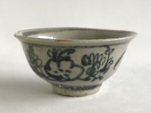 China Ming Three Friends Winter Chenghua Tea Cup 15th Century Free Shipping
