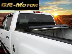 2005 2015 Toyota Tacoma 6 Ft Bed Soft Roll Up Tonneau Cover With Utility Track