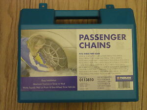 Snow Tire Chains Peerless 0113855 P225 60r16 P235 60r 15 255 40r17