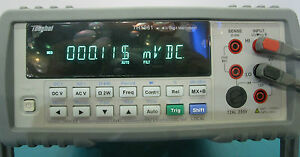 6 1 2 Rms Bench Top Multimeter High Accuracy 0 0035 Dcv 0 01 Resistance Th1961