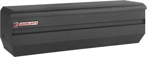 664 52 01 Weather Guard Matte Black Aluminum Chest Box 62 Truck Toolbox
