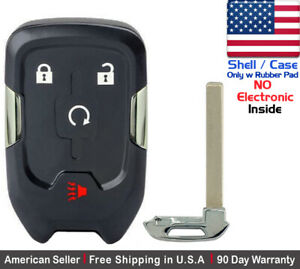 1x New Replacement Keyless Key Fob Case For Gmc Terrain Smart Remote Shell