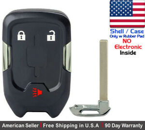 1x New Replacement Keyless Key Fob Case For Smart Gmc Terrain Remote Shell