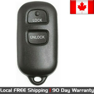1 New Replacement Keyless Entry Remote Control Key Fob For Toyota Bab237131 056