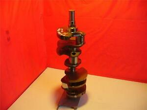 4 6 Ford Crankshaft dohc 6 Bolt Flywheel Cast No F2aeae no 25 4 6