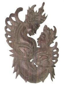 Beautiful Old Thai Wood Carve Wall Hanging Cheap Price Don T Miss
