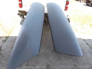 1948 Dodge 4 Door Split Hood 2 Pcs Original Part