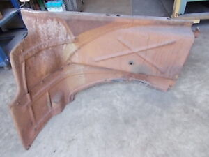 1948 Dodge 4 Door Passenger Inner Fender Splash Pan Original Part