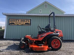 2017 Kubota Zd1211 Diesel Zero Turn Riding Mower 72 Deck 25hp Low Cost Shipping