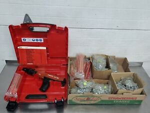 Hilti Dx36 Semi Auto Powder Actuated Nail Gun W Extras