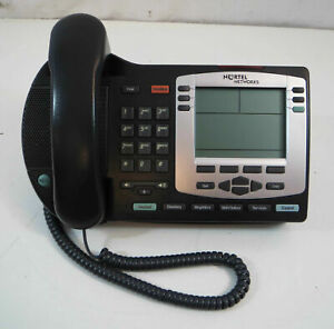 Nortel I2004 Ntdu92 Charcoal Ip Poe Office Business Phones Lot s Available
