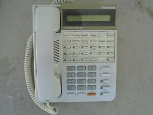 Panasonic Hybrid System Kx t7130 White Display Phone Free Shipping