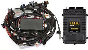 Haltech Ht 150930 Elite 1500 Mitsubishi 4g63 Terminated Harness Kit Suits 1g Cas