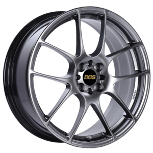 Bbs Rf 18x8 5x114 3 Et43 Diamond Black Wheel Rim 82mm