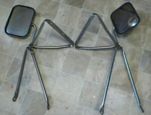 Gm 1973 1991 73 91 Gmc Chevy Truck Tow Mirrors Ford Dodge Vintage 1 Ton Dually