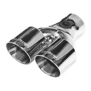 Flowmaster Flowmaster Exhaust Tip 3 In Dual Out Angle Cut Fits 3 In Tubing