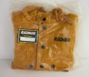 New Radnor Large Heavyweight Protective Leather Coverall 6405507 Camel Brown