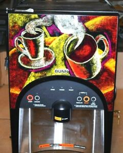 Bunn Lca 2 lp Ambient Hot Beverage Dispenser Untested Needs Cleaned
