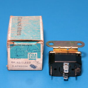 Nos Gm Power Tailgate Ac Blower Motor Relay 1971 1976 Chevy Olds Pontiac