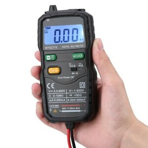 Electrician Hvac Automatic Smart Digital Meter Backlight Multimeter Tester Am