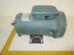 Reliance Electric T56s1004a Power Matched 1 2 Hp Dc Motor Frame Me0056c