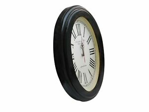 Vintage Style Brass Wooden Wall Clock Camlridge Clock Wall Decor Nautical Gift