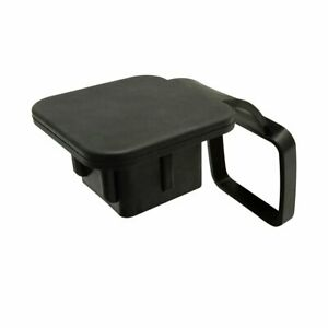 2in Tow Trailer Hitch Cover Plug Mud Dirt Protect For Toyota 4runner Rav4 Black