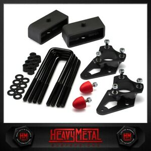 3 Front 2 Rear Lift Leveling Kit Fits 2005 2019 Nissan Frontier Bump Stops