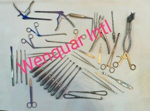 Laminectomy Set 35 Pcs Surgical Orthopedic Instruments Best Quality A