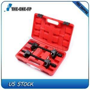 2pc For Macpherson Struts Spring Compressor With Detent Pins 300mm