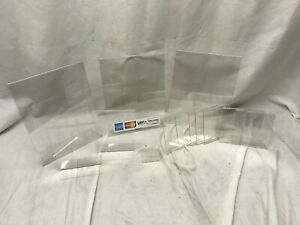 Lot 14 Acrylic Plastic Retail Store Sign Stand Holder Table Tents