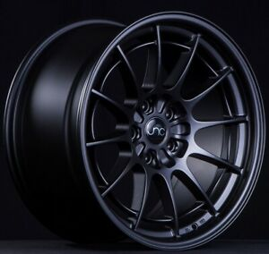 Set 4 Jnc Wheels Staggered Jnc033 18x8 5 9 5 5x112 35 Matte Black