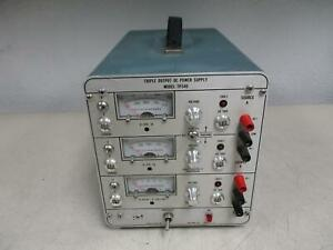 Power Designs Tp340 Triple Outpost Dc Power Supply T124876