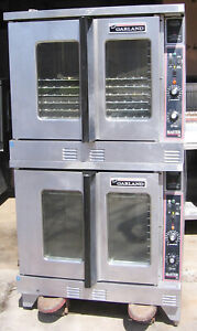 Garland 480 Volt Electric Double Convection Oven Extra Clean Condition